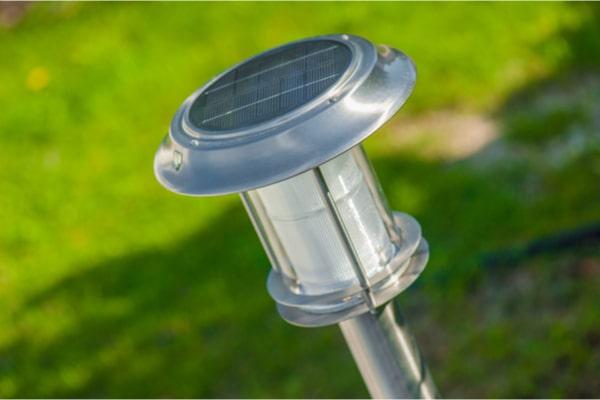 Eclairage solaire jardin